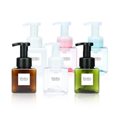 250ml Empty Plastic Foaming Hand Soap Dispenser Liquid Lotion Foam Pump Bottle