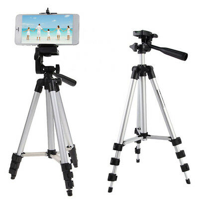 Portable Aluminum Alloy Camera Mount Holder Tripod Stand For Phone /Camera