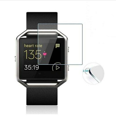 2-Pack 9H 2.5D Screen Protector for Fitbit Blaze Smart Watch Tempered Glass Film