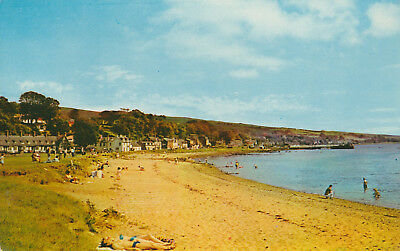 Lamlash Bay Isle of Arran Picture Scotland c.1966 Printed Posted Postcard