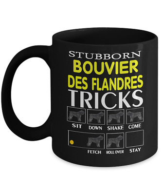 Bouvier Des Flandres Dog,Flanders Cattle Dog,Vlaamse Koehond,Coffee Mug