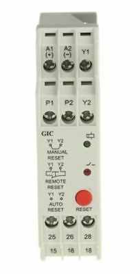 GIC Thermistor Monitoring Relay with DPDT Contacts, 24 V ac/dc