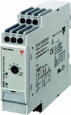 Carlo Gavazzi Current, Voltage Monitoring Relay with SPDT Contacts, 1 Phase, 115