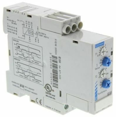 Crouzet Current Monitoring Relay with SPDT Contacts, 120 V ac
