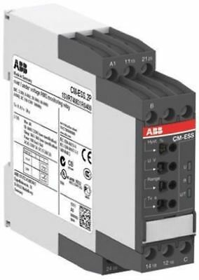 ABB Voltage Monitoring Relay with DPDT Contacts, 1 Phase, 110 â?? 130 V ac