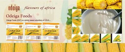 Corn Ogi (Akamu) - 200g (Pack of 20) - Frozen and Fresh - 24hrs delivery