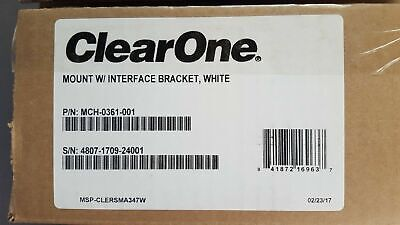 "ClearOne Ceiling Mount Kit (White) with 12"" Spanner for Beamforming Microphone A"