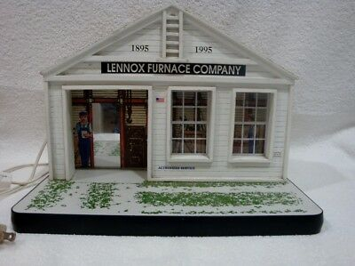 Collectable Lighted ~ Lennox Furnace Building ~ 100 Anniversary