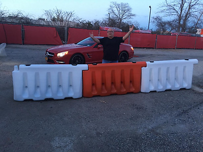 Brand New Plastic Jersey Barriers