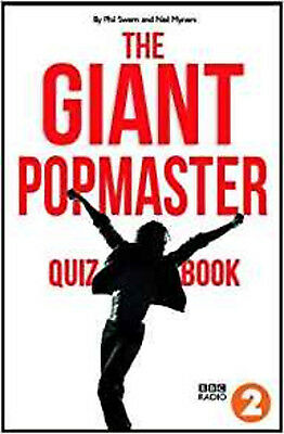 The Giant PopMaster Quiz Book, New, Neil Myners,Phil Swern Book