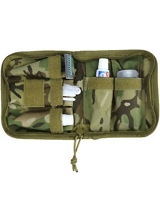Military Army Folding Compact Wash Kit Travel Camping Hiking BTP Camo