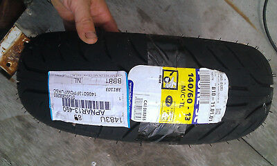 pneu neuf michelin scooter 140/60-13   taille 13