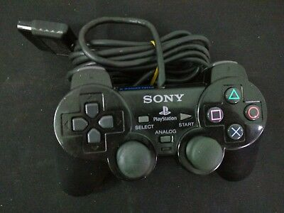 PSX/PS2 - Mando Original Sony Con Cable Negro