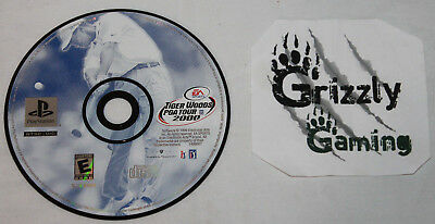 USED Tiger Woods PGA Tour 2000 Sony PlayStation 1 PS1/PSX (NTSC) DISC ONLY!!