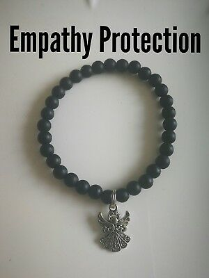 Code 413 Empathy Protection Agate Infused Bracelet Archangel Michael Man Male