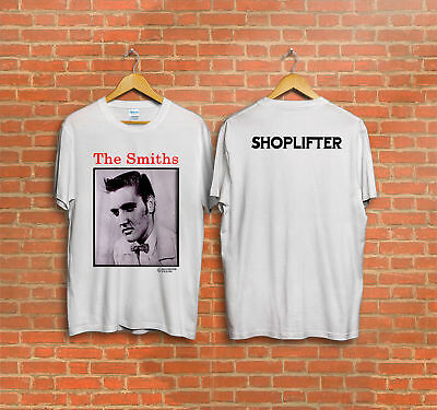 MENS RAGLAN LONG SLEEVE TOP SMITHS SHOPLIFTERS ELVIS PRESLEY ENGLISH MORRISSEY