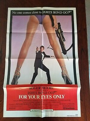 """For Your Eyes Only"" U.S. One-Sheet"