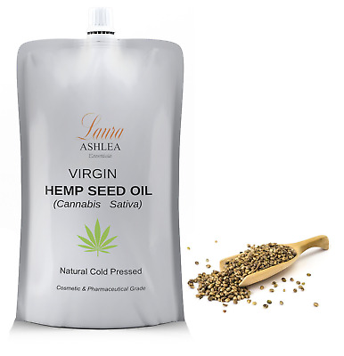 Hemp Seed Oil - Organic - Unrefined - Cold Pressed - Virgin - Aust Product