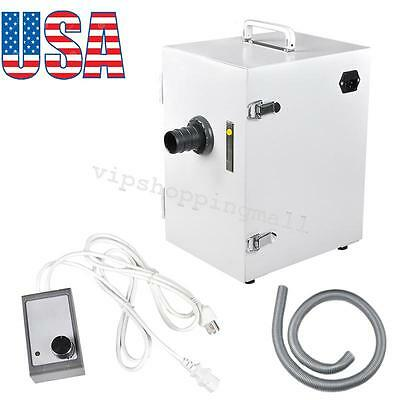 USPS Dental Lab Digital Single-Row Dust Collector Vacuum Cleaner Equipment 2018