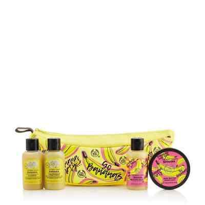 New Vegetarian The Body Shop Banana Pop Limited Edition Treats Pouch