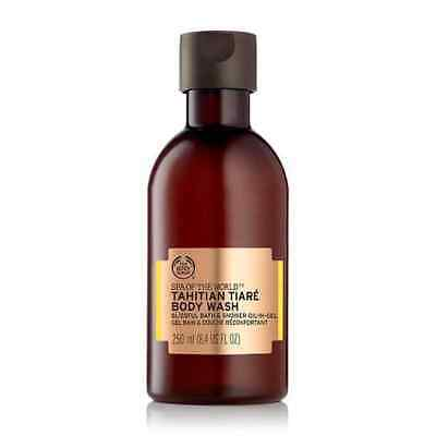 Vegetarian The Body Shop Spa of the World Tahitian Tiaré Bath & Shower Oil-In-Ge