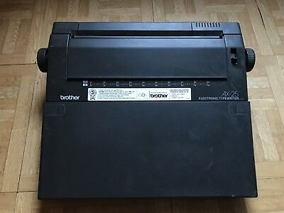 Brothers AX-25 Electronic Typewriter