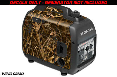 Decal Wrap For Honda EU2000i Skin Camping Generator Engine Sticker WING CAMO