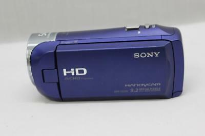 sony hdr cx240 full hd handycam camcorder blue 51 00 picclick rh picclick com Sony Camcorder Manuals Sony Camcorder Manuals
