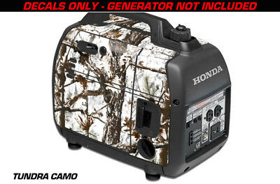 Decal Wrap For Honda EU2000i Skin Camping Generator Engine Sticker TUNDRA CAMO