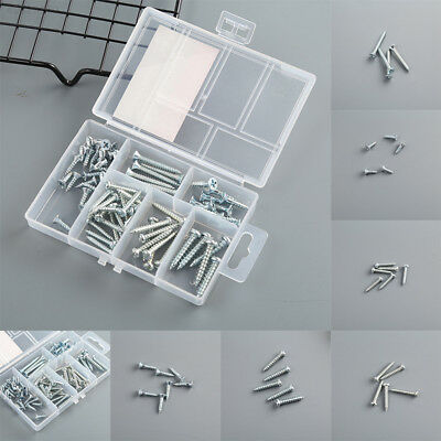 62Pcs/1Box Wall Anchors Expansion Bolt Screw Home Garden Fixing Tool Hardwa