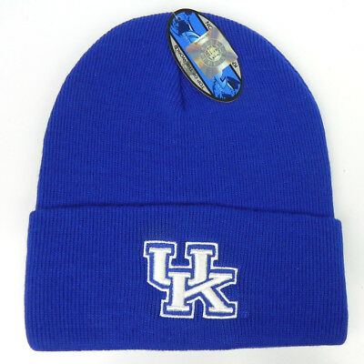 new product 78c18 2721a Kentucky Wildcats Royal Ncaa Beanie Top Of The World Simple Knit Cap Hat Nwt !