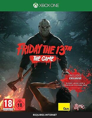 Xbox One Game Friday the 13th: the Game (Friday the 13 NEW