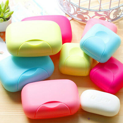 Newest Fashion Travel Soap Case Soap Box Container Portable Sealed 2 Sizes