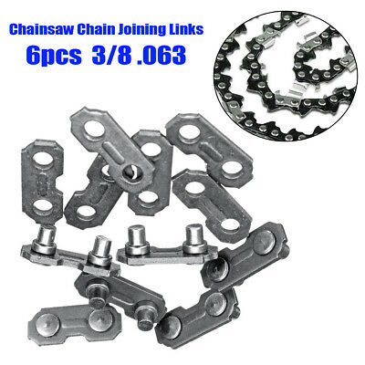 6X CHAINSAW CHAIN JOINER LINKS - PACK OF 6 FOR JOINING SAW CHAINS Kits Parts B1