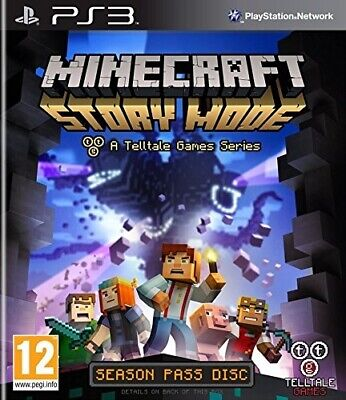 Juego Ps3 Minecraft Story Mode Ps3 3275687