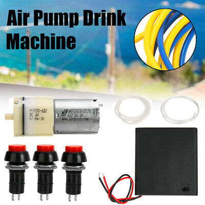 DC6/9V Mini Air Pump Motor kit Fit For Homemade Dispenser Machine Fountain Drink