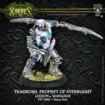 Warmachine Everblight Warlock Thagrosh, Prophet of Everblight
