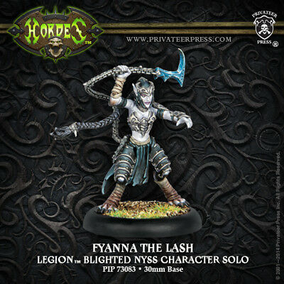 Warmachine Everblight Fyanna the Lash Character Solo