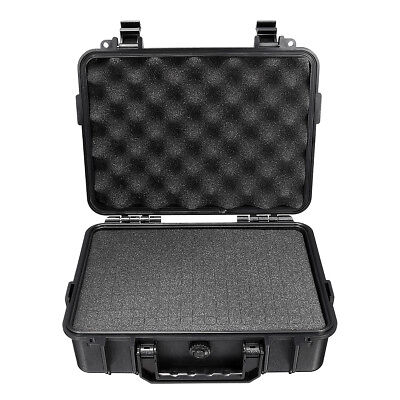 3Size Waterproof Hard Carry Tool Case Bag Storage Box Camera Photography Sponge