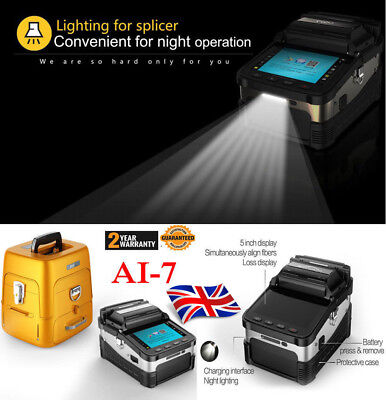 Original Signal Fire Ai-7 Intelligent Optical Fiber Cleaver Fusion Splicer