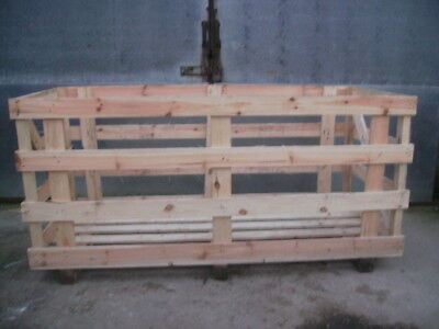 Wooden Crate - Large/Heavy/Rigid for multipurpose use - storage or shipping