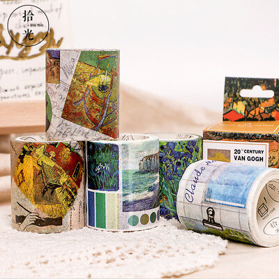 Great Van Gogh Monet Post-Impressionism Washi Mask Tapes Scrapbook DIY Craft AU
