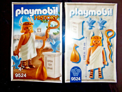Playmobil,HERMES,GREEK GOD OF COMMERCE,EUROPEAN EXCLUSIVE,NO BOX