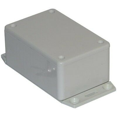 Hammond 1591LF2SGY Multipurpose GPABS Enclosure Flange Base 85 x 56 x 39 Grey