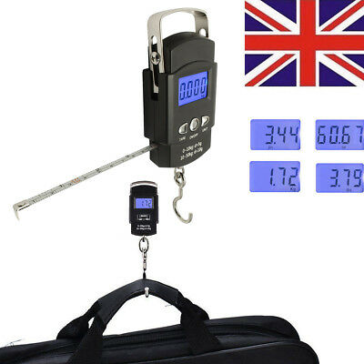 50KG Digit Travel Portable Weighing Fishing Scale for Suitcase Bag Kitchen Food