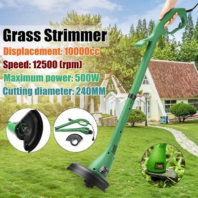 Corded Electric Grass Trimmer 400W Lawn Weed Cutter Strimmer Garden Cutting Tool