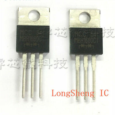 MBR10200CT Diode 2x5A 200V TO-220 Menge 4
