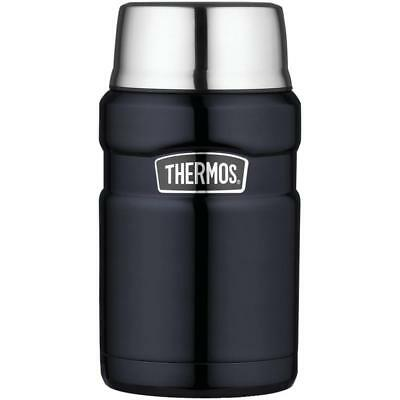 Thermos Stainless King 24 Ounce Food Jar, (Midnight Blue) **Free Shipping**