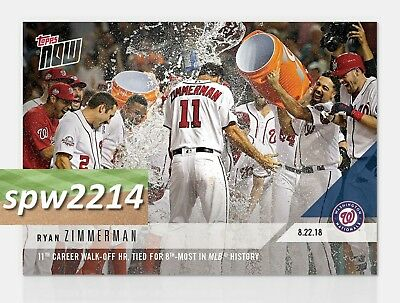 2018 TOPPS NOW #890 1ST INN RBI PUTS BREWERS ON THE BOARD RYAN BRAUN BREWERS