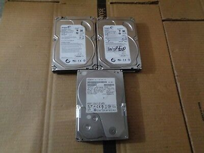 Lot Of 3 Mixed 2Tb Hard Drives Wd Western Digital Seagate